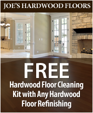 Take advantage of our affordable hardwood floor refinishing in San Diego, CA